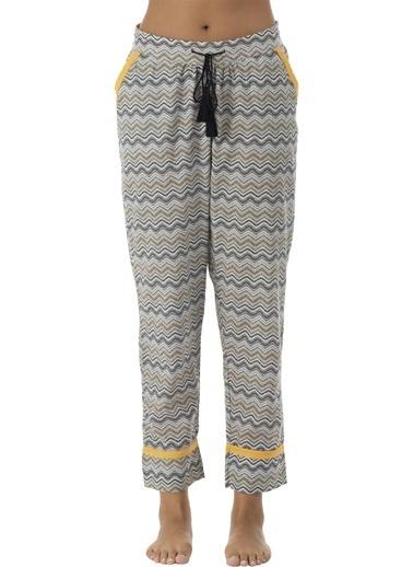 Bella Maison %100 Pamuk Etniko Pijama Altı Renkli